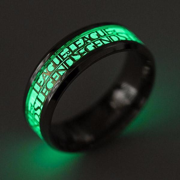 Epic League Of Legends Glow Rings