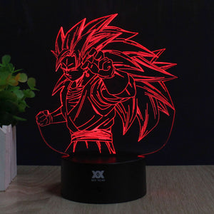 Goku LED Night Lamp