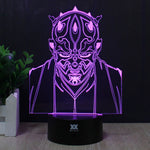 Star Wars Jedi Knight 3D Lamp