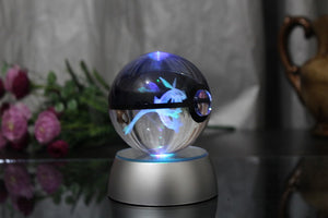 Pokemon Go Crystal Ball Lamps 90mm