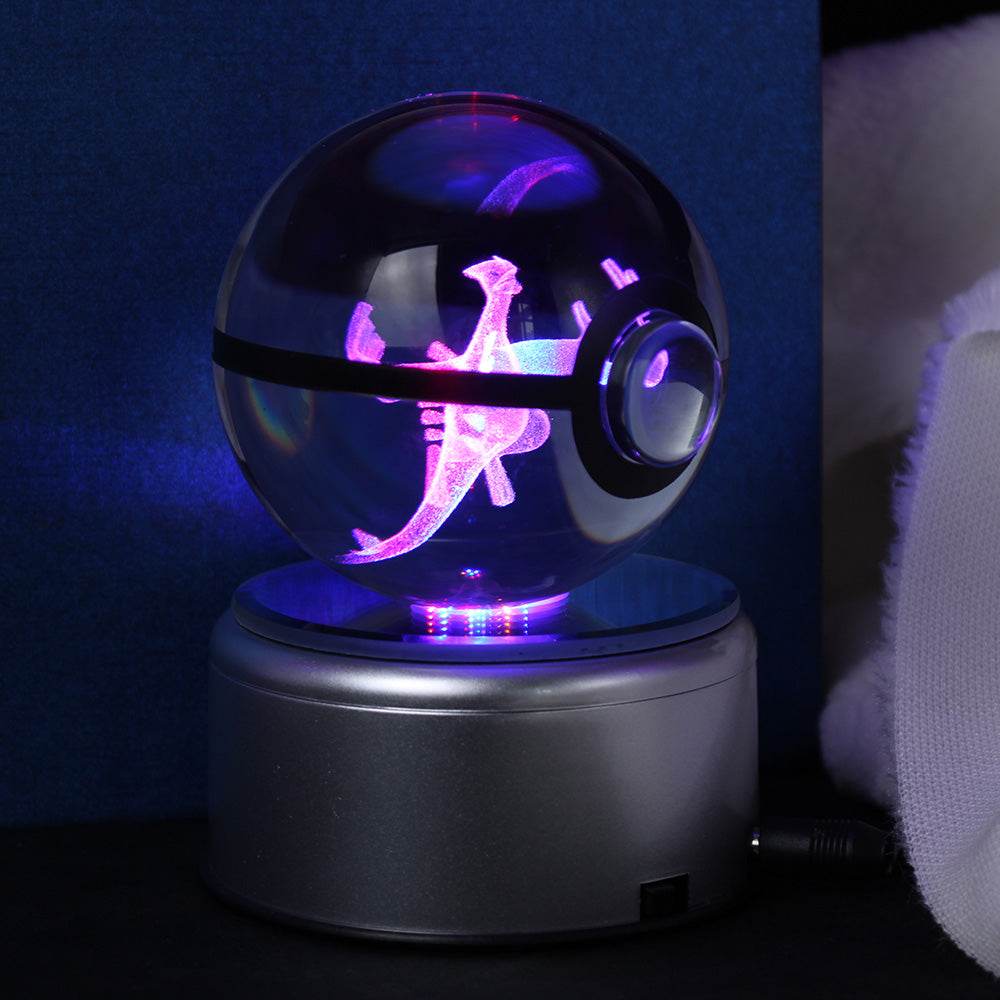 Lugia 3D Crystal Ball Lamp