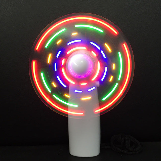 Fun LED Patterned Fans