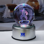 Hulk Rotating 3D Crystal Ball Night Lamp