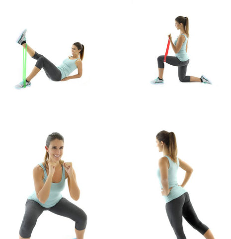resistance band exercsies