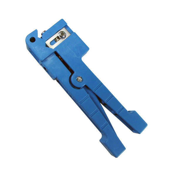 Ideal 45-163 - Coaxial Cable Stripper/Fiber Optic Cable Stripper: 1/8 to 7/32 in Image