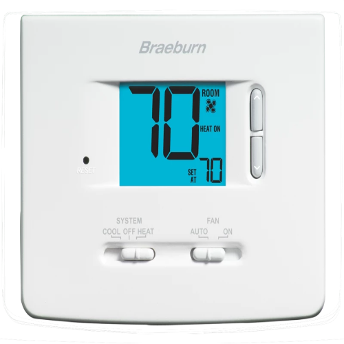 Braeburn 1020NC - Builder Model Thermostat Image