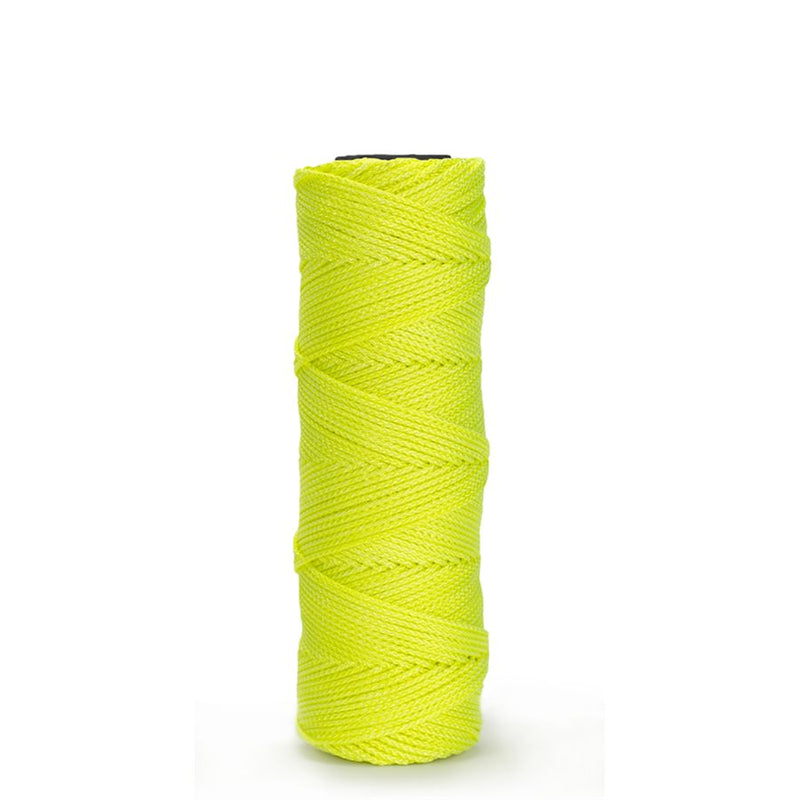 Bon Tool 11-877  EZC BRAIDED NYLON LINE - 500' NEON YELLOW