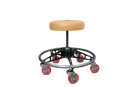 VYPER CHAIR VC-RS-TAN-BLK-RED ROBUST STEEL WITH SEAT COLOR - TAN ARM COLOR - BLACK WHEEL COLOR - RED