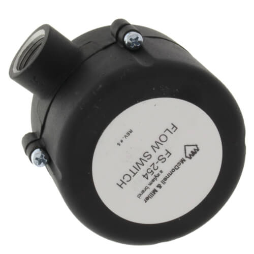 "Mcdonnell & Miller  FS254 SPDT 1"" NPT. General Purpose Nema-4 Flow Switch, Includes 1"", 2"", 3"", & 6"" Stainless Steel Paddles 120610"