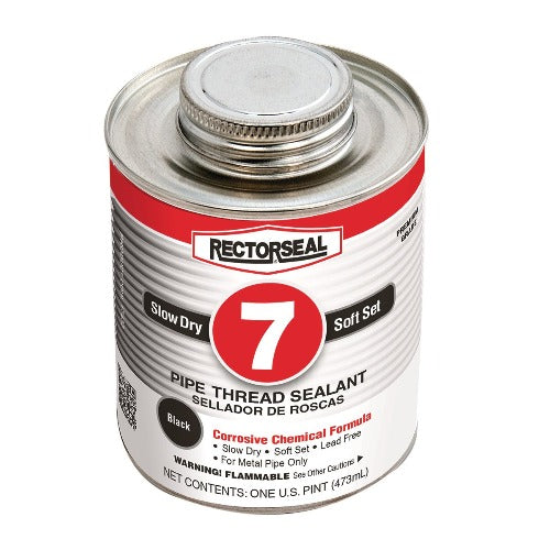 Rectorseal 17432 - No. 7 For use with corrosive chemicals and active solvents, Soft setting