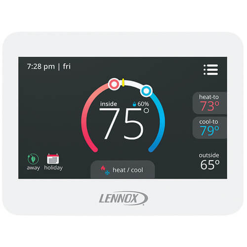Lennox 13H15 - 7 Day Programmable ComfortSense 7500 Commercial Thermostat Image