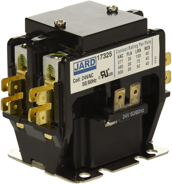 MARS - 17325 - 30 Amp Pole 24 Volt Contactor with Lugs