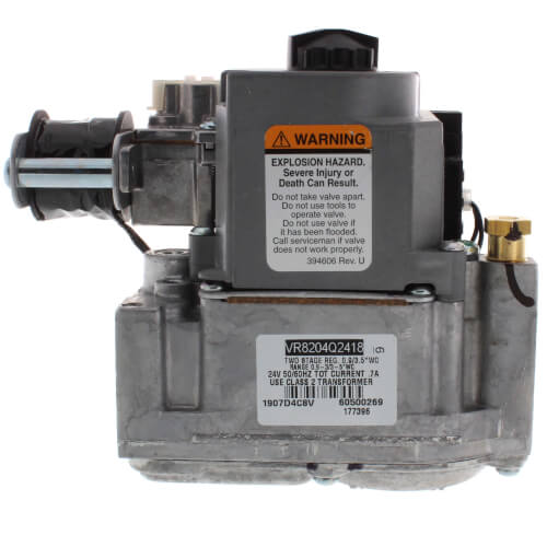 "Reznor 177396 1/2"" NPT, 24v, two-stage natural gas valve."