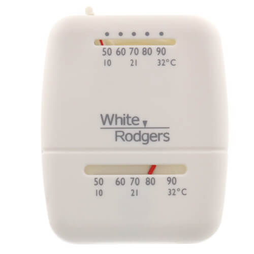 White Rodgers 1C20-102 - Single-Stage Snap-Action Low voltage room thermostat
