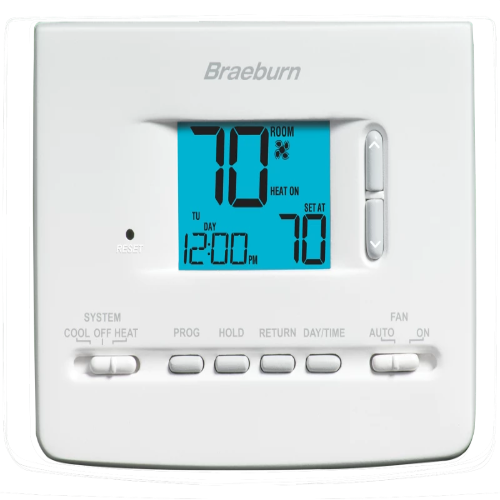Braeburn 2020NC - Builder Model Thermostat Image