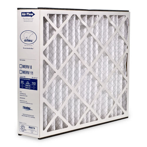"Trion 259112-101 - 16"" x 25"" x 3"" Air Bear Cub Replacement Filter (MERV 11)"