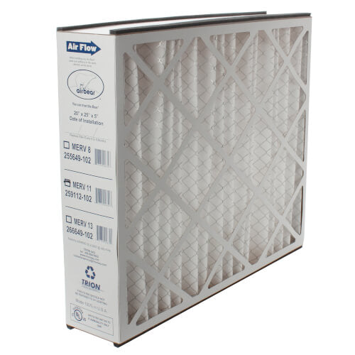 "Trion 266649-102 - 20"" x 25"" x 5"" Air Bear Cub Replacement Filter (MERV 13)"