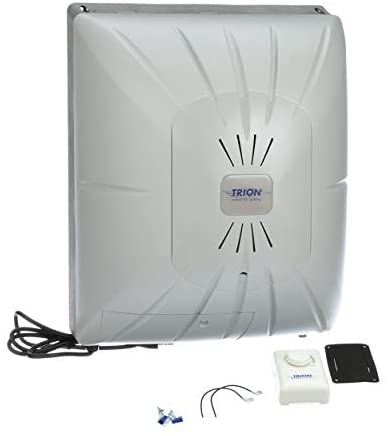 Trion 265713-002 White Evaporative Trion CB100 ComfortBreeze Fan Powered Evaporative Humidifier
