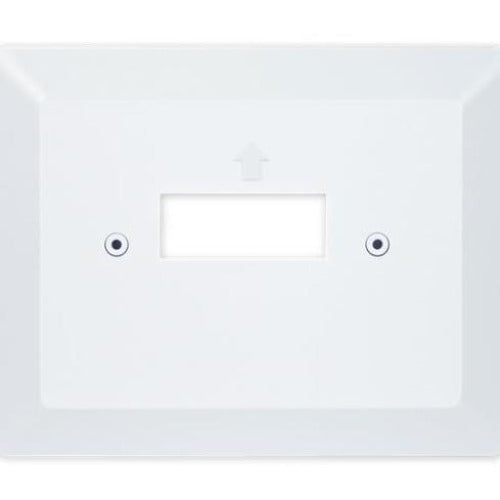 Braeburn 2920 - White Vertical J Adapter Wall Plate