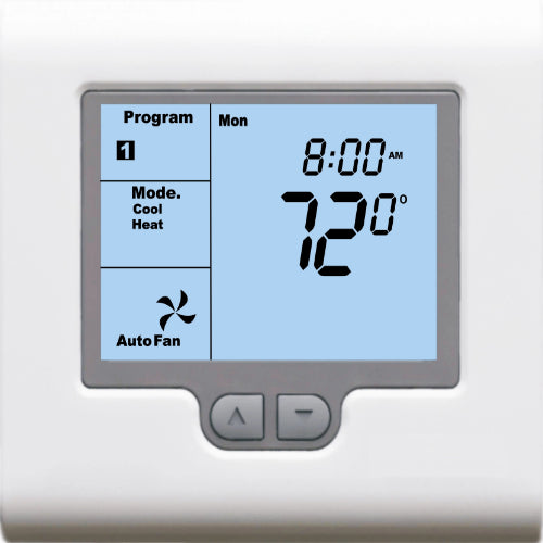 Jackson Systems T-32-P - Programmable 3H/2C Thermostat Image