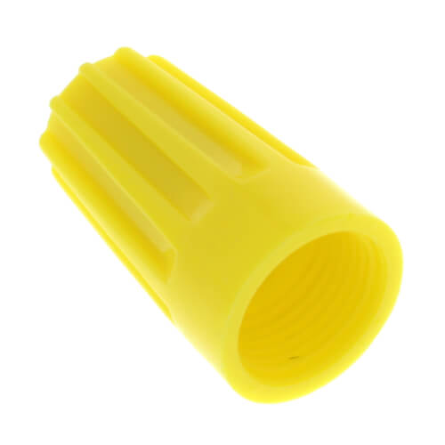 Ideal 30-074 - 74B Wire-Nut® Wire Connector, Yellow (Box of 100)