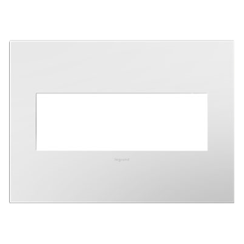 Adorne by Legrand AWP3GWH4 - GLOSS WHITE 3-GANG WALL PLATE