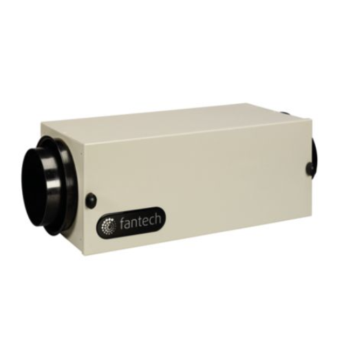 "Fantech 40304 - FB 6 In-Line Filter Box w/MERV 13 Filter, 6"" Duct"