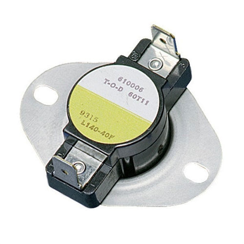 Carrier 3L01-250 - Disc Thermostat Limit Control Open Onrise Opens 250 Deg F Closes 210 Deg F (White-Rodgers) Image