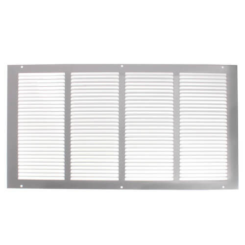 "Hart and Cooley 43156 - 20"" x 10"" (Wall Opening Size) White Return Air Grille (650 Series)"