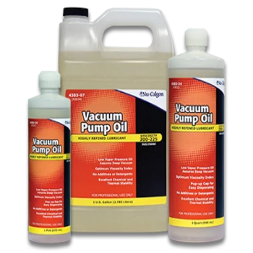 Nu-Calgon 4383-34 - Vacuum Pump Oil 1 Pint Bottle Image