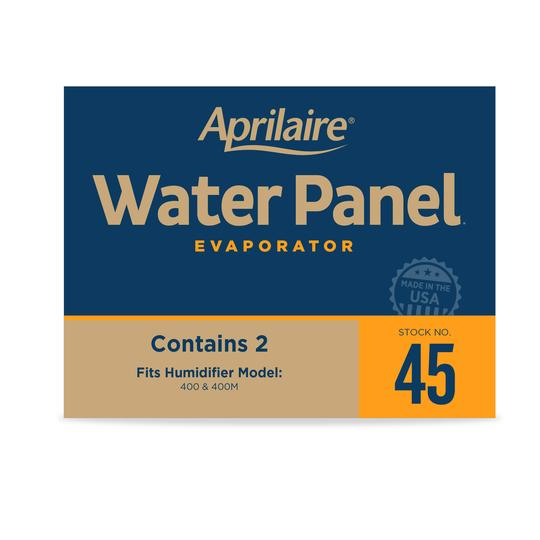 APRILAIRE 45 REPLACEMENT WATER PANEL FOR APRILAIRE WHOLE HOUSE HUMIDIFIER MODELS 400, 400A AND 400M(Pack of 2)