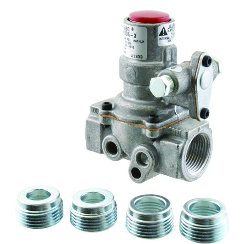 Baso H15DA-3C - Series H15 Automatic Shutoff Internal Pilot Gas Valve, Natural Gas/Liquid Propane Image