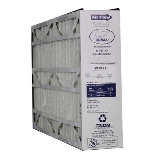 "Trion 266649-105 - 16"" x 25"" x 5"" MERV 13 Pleated Air Filter"