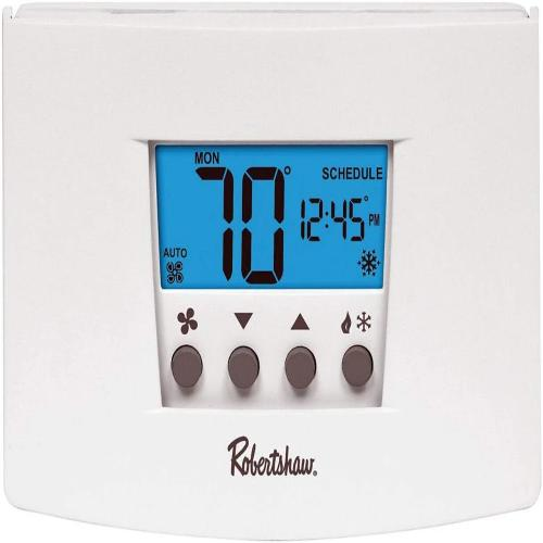 Robertshaw RS4320 - 3 Heat/2 Cool Universal Digital Non Programmable Multistage Thermostat Image