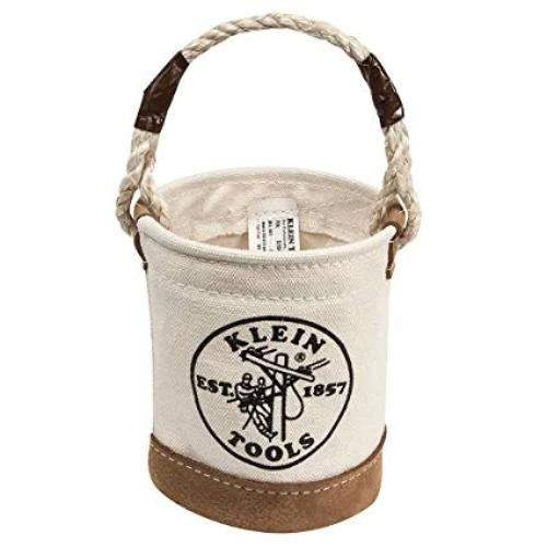 Klein Tools 5104MINI - Mini Leather-Bottom Bucket Image
