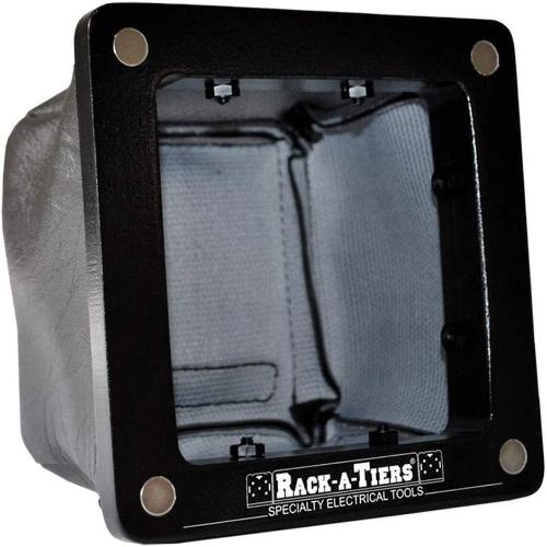 Rack-A-Tiers 84000 - Non-Conductive Electrical Safety Drilling Tool Bag Image