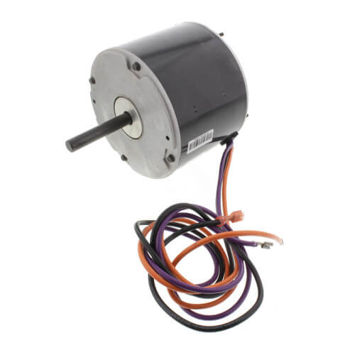Lennox 68J24 - Nidec 68J2401, Condenser Fan Motor, 1 Speed, 1/3 HP, 208-230/1, 1075 RPM Image