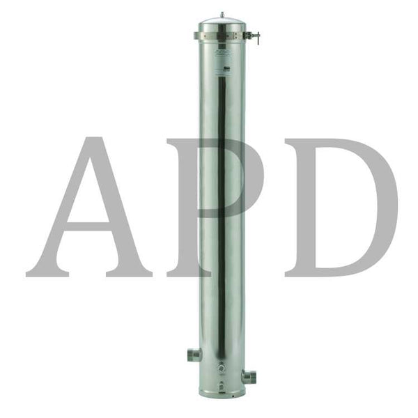 3M™ Aqua-Pure™ Whole House Water Filter Housing SST2HB, Standard Diameter, Stainless Steel, 1 Per Case