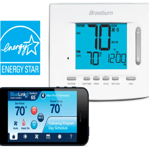 Braeburn 7300 - Thermostat BlueLink Model Image
