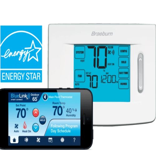 Braeburn 7320 - BlueLink Model Thermostat Image