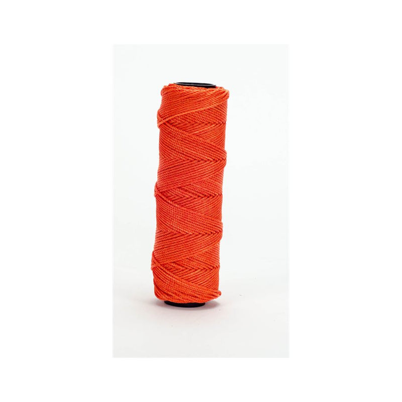 Bon Tool 81-177 EZC MASON'S TWISTED NYLON LINE - 250' NEON ORANGE