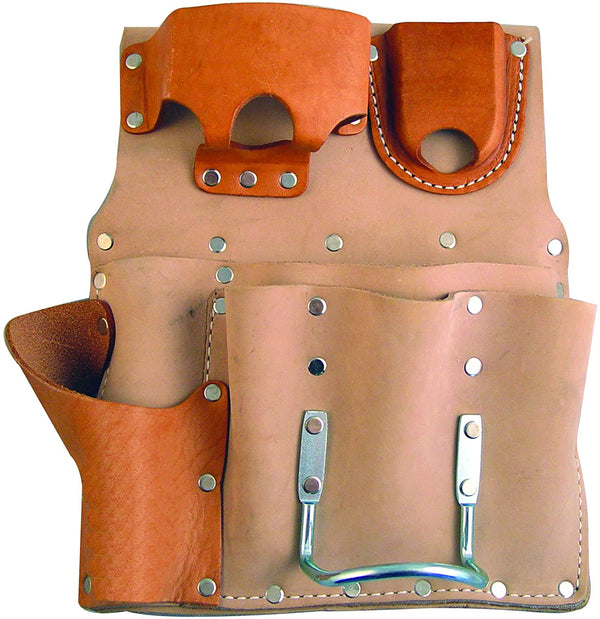 Bon Tool 84-433 Tool Holder - Leather 8 Pocket - Right
