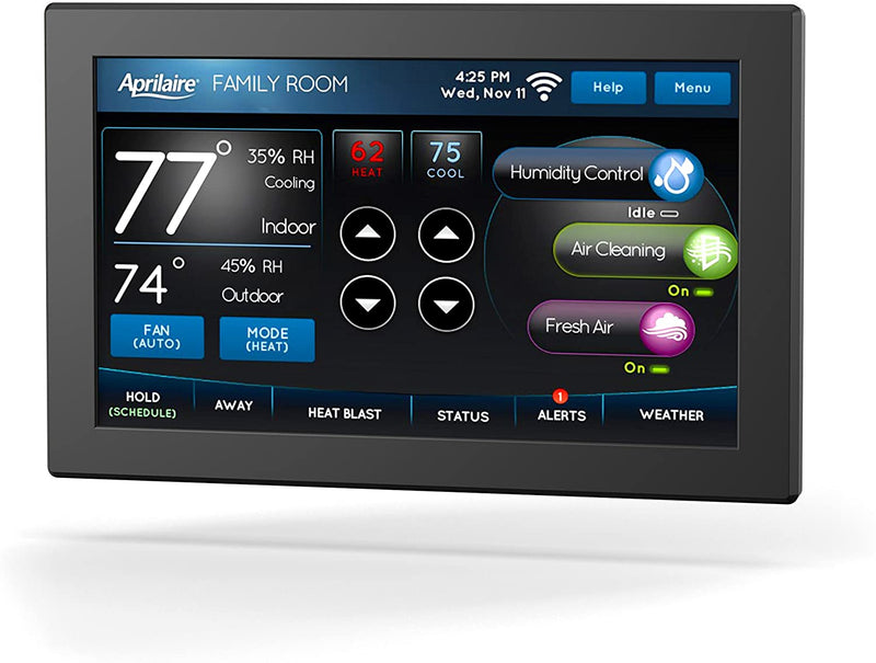 Aprilaire Universal Color Touch Screen Wi-Fi IAQ 8920W Thermostat