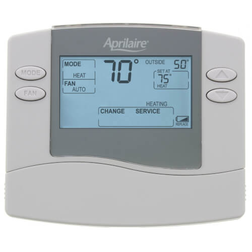 Aprilaire 8448 - Non-Programmable Multi-Stage 2H/2Cor4H/2C Heat Pump Thermostat Image