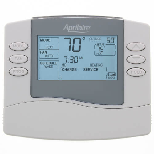 Aprilaire 8463 - Programmable 1H/1C Thermostat (5/2 or 5/1/1 Day)