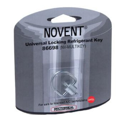 Rectorseal 86698 - Novent Universal Locking Key for All Caps (NV-MULTI-KEY)