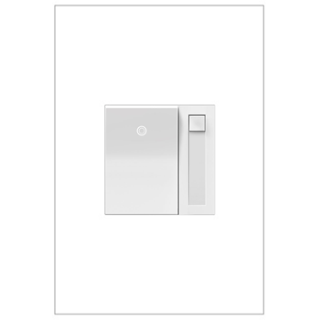 Adorne by Legrand ADPD703HW4 PADDLE™ DIMMER SWITCH, 700W INCANDESCENT/HALOGEN, WHITE