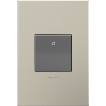 Adorne by Legrand ASPD2032M4 PADDLE™ SWITCH, 20A, MAGNESIUM