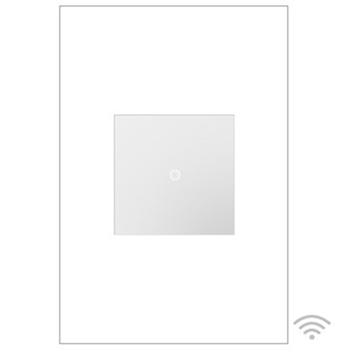 Adorne by Legrand ASTH155RMW1  TOUCH™ WI-FI READY MASTER SWITCH, WHITE