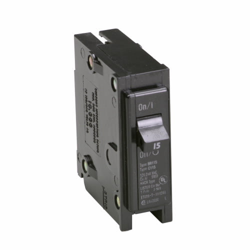 Cutler-Hammer BR115 - Type BR 1-Inch Plug-On Circuit Breaker Image